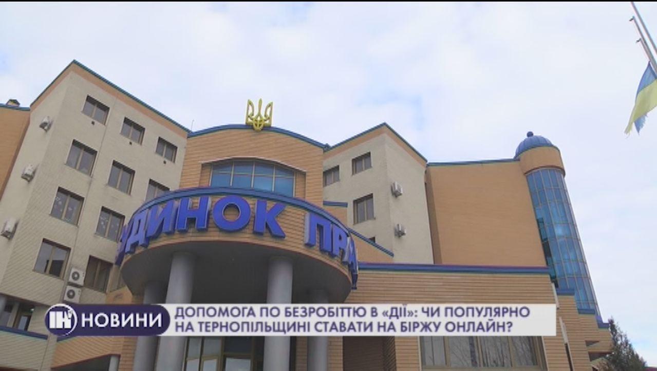 Допомога по безробіттю в «Дії»: чи популярно на Тернопільщині ставати на біржу онлайн?