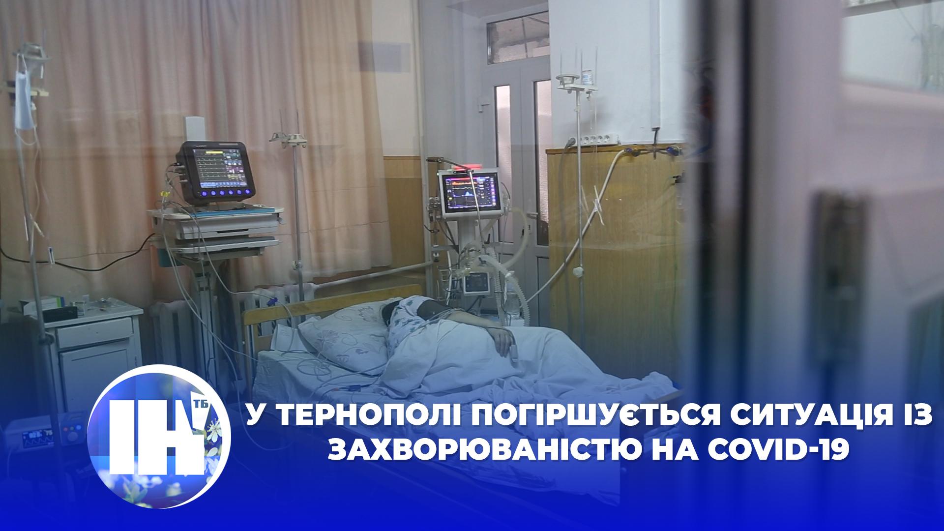 У Тернополі погіршується ситуація із захворюваністю на COVID-19