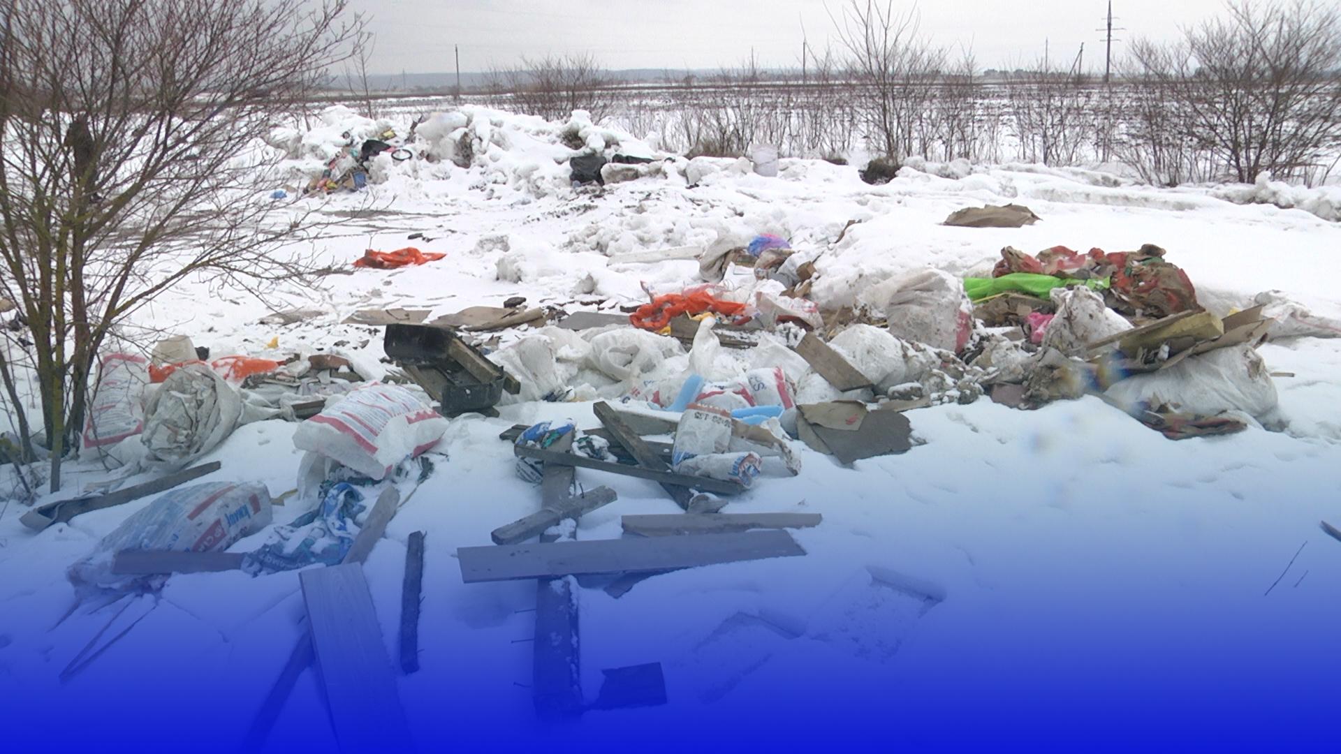 Чиє сміття? В Білецькій громаді виявили несанкціоноване звалище мотлоху