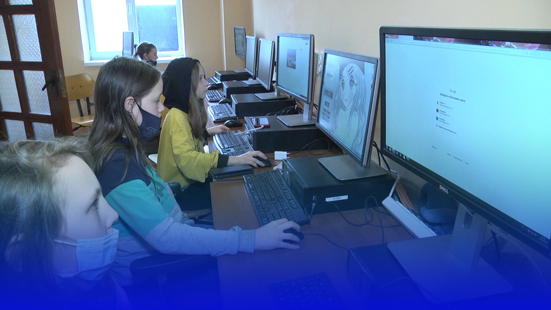 У тернопільському «Карітасі» діти безкоштовно навчаються комп'ютерної грамотності