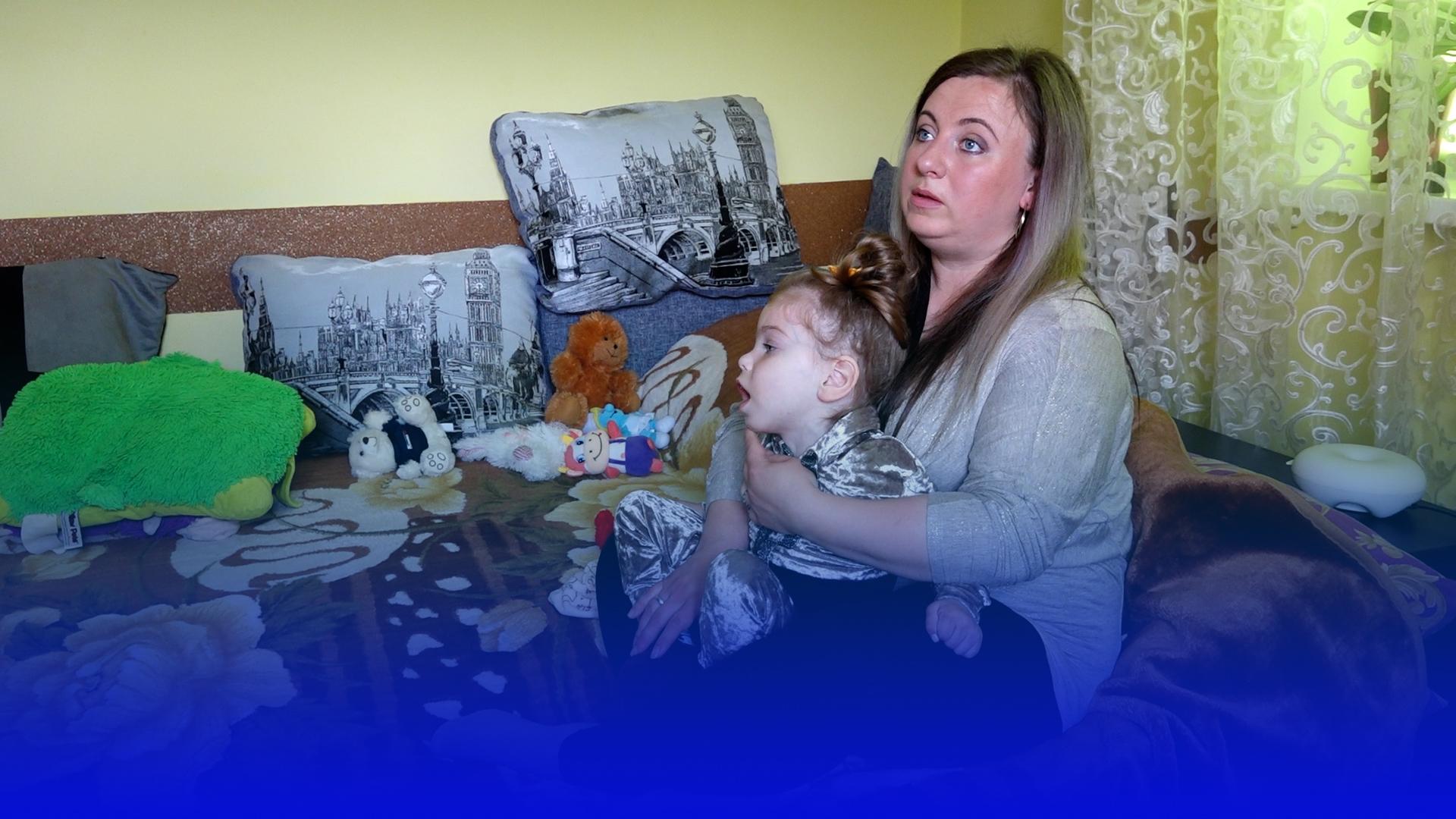 """Хвороба донечки розділила її життя на """"до"""" і """"після"""": історія матері, яка виховує дитину з інвалідністю"""