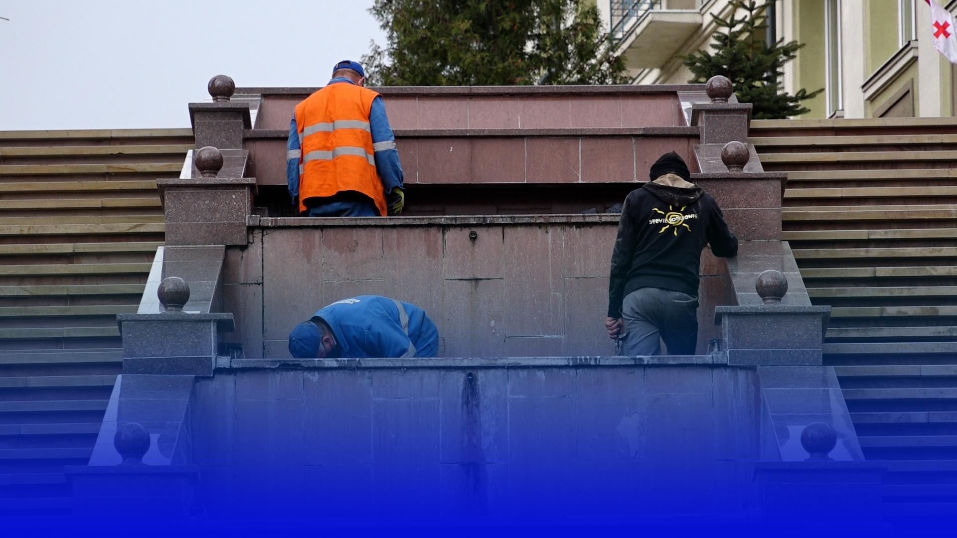 У Тернополі очистять 5 фонтанів: до Великодня планують відновити роботу усіх