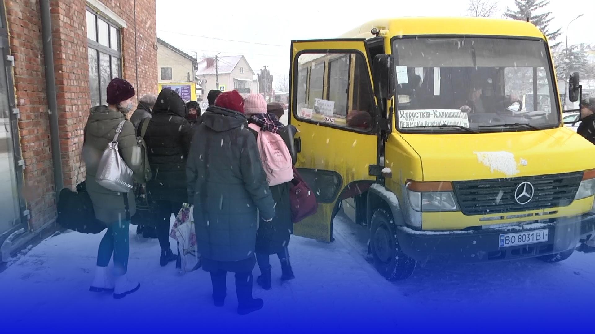 У Хоростківській громаді курсує безкоштовний автобус