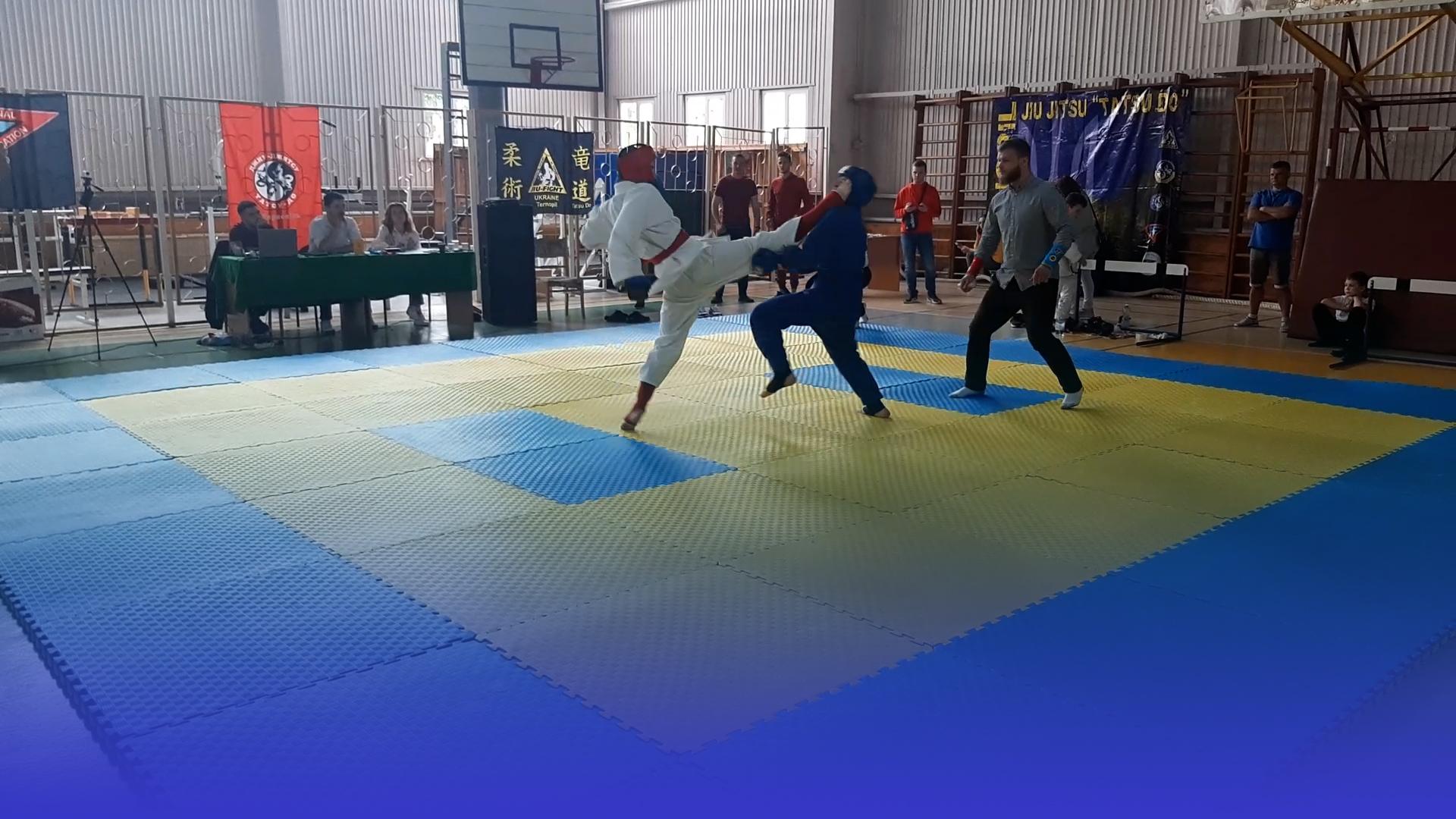 Понад 200 учасників боролись за перемогу на перших Всеукраїнських змаганнях із джиу-джитсу в Тернополі