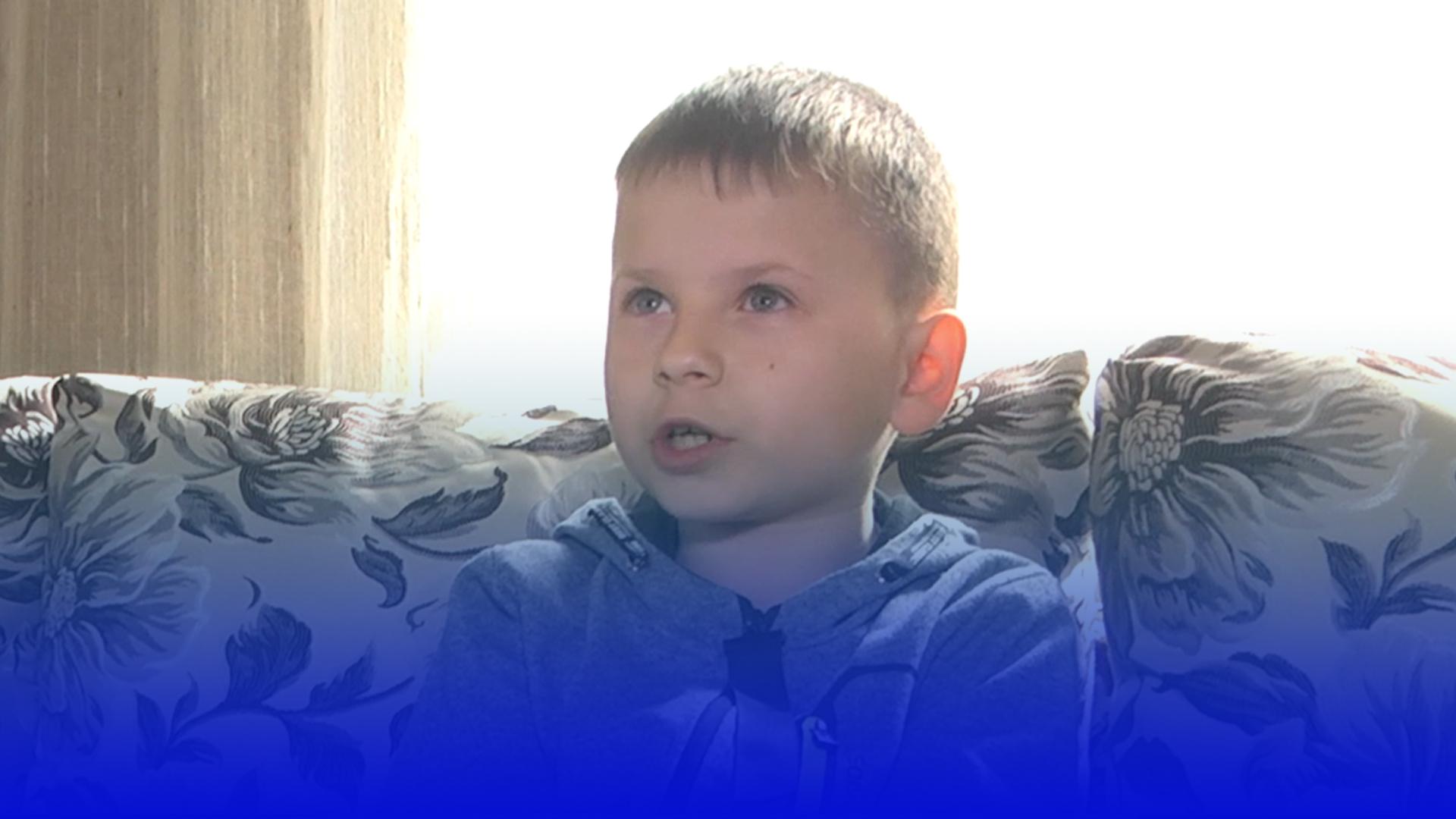 У своє 9-річчя Юрчик з Прошової розповів про мрії і страхи після аварії