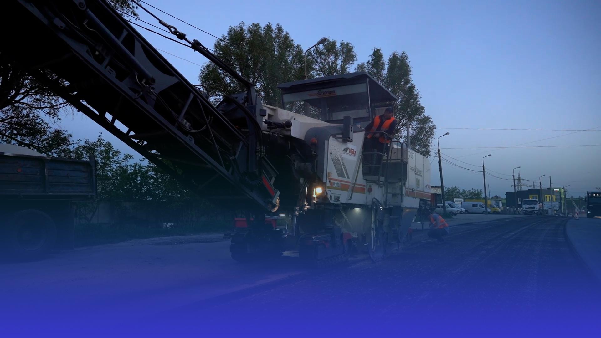 У Тернополі оновлюють об'їзну дорогу