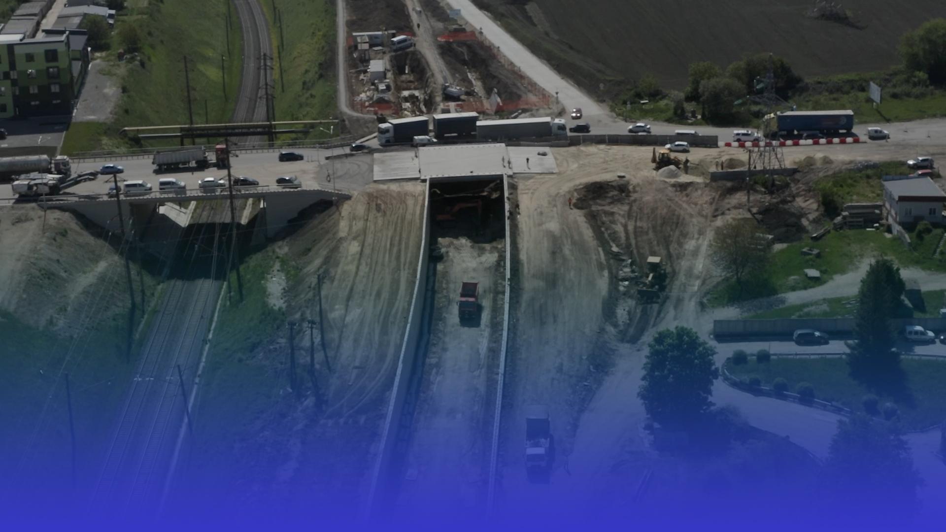 Верхній рівень Гаївської транспортної розв'язки планують відкрити для проїзду