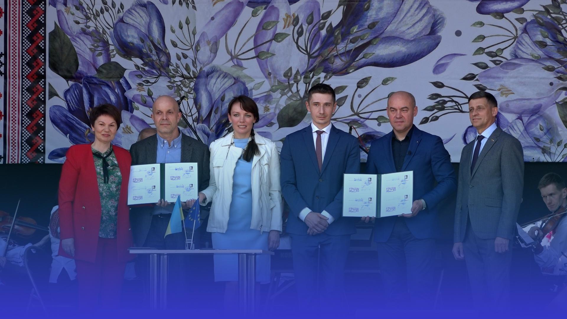 """""""Україна – Європа"""": мистецьке свято на Театральній площі Тернополя"""