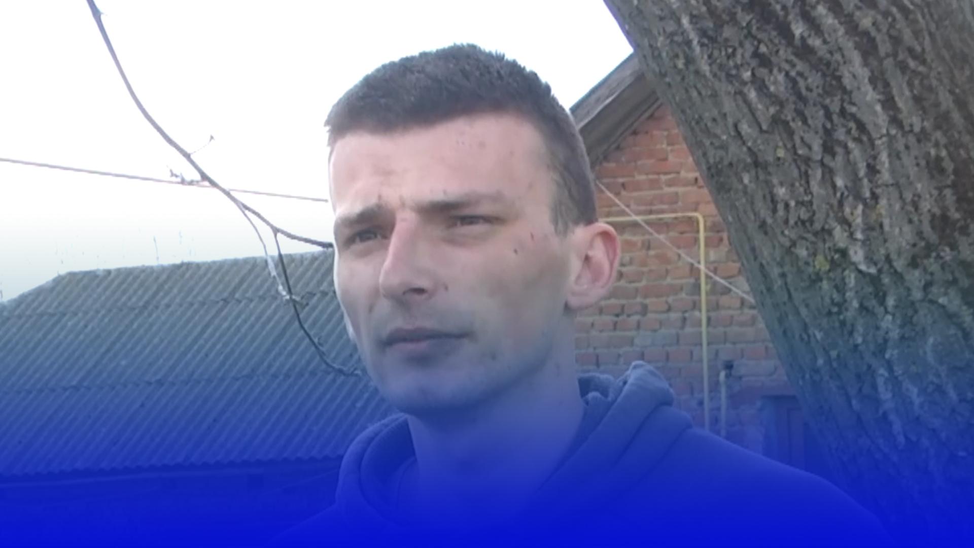 Зізнання на камеру: 24-річний підозрюваний у вбивстві розповів про перепалку в селі Глещава