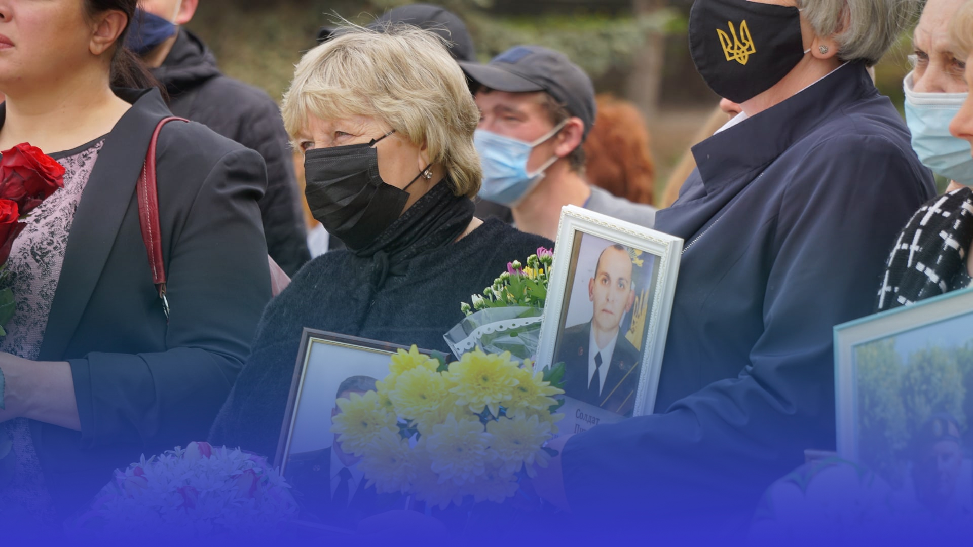 Полеглих українських героїв вшанували у Тернополі