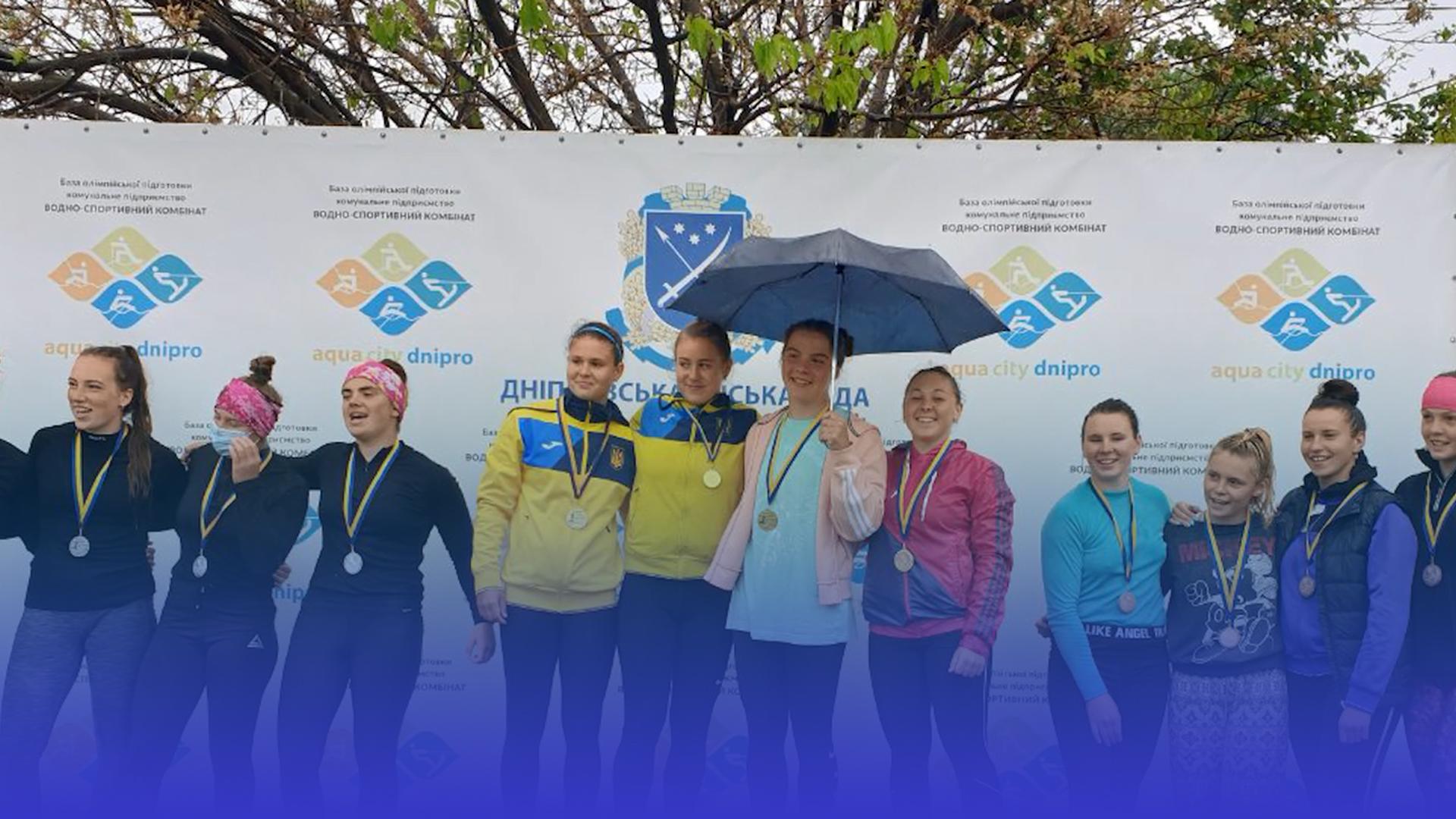 """Чотири """"золота"""" і """"бронза"""": тернопільські веслувальники вдало виступили на Чемпіонаті України серед молоді і юніорів"""