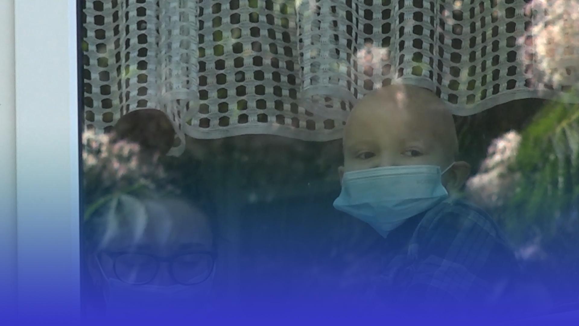 Маленький ювілей: хворого на лейкоз тернополянина Нестора привітали із днем народження одногрупники із садочка