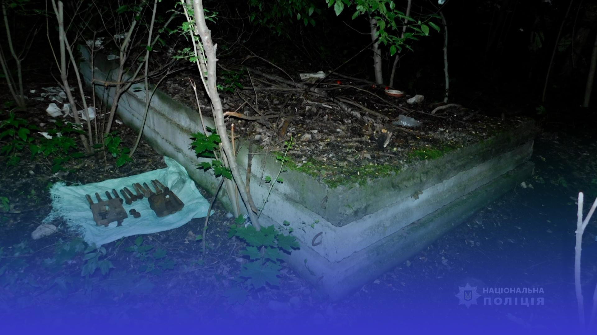 Жителя Шумської громади поліцейські підозрюють у крадіжці з колії