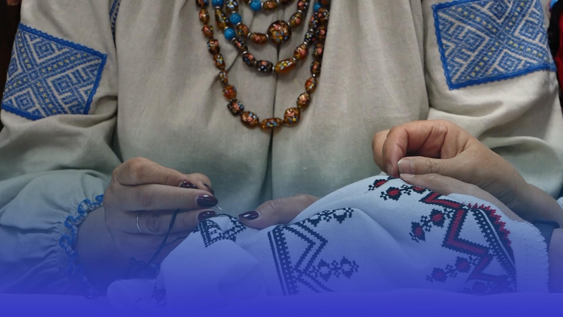 """Майже 2 метри вишивки: Тернопільщина долучилась до Всеукраїнського проєкту """"Рушник єднання"""""""