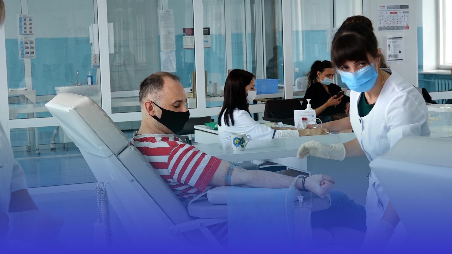 """""""Ми усі однієї крові"""": у Тернополі донори здали майже 14 літрів крові"""