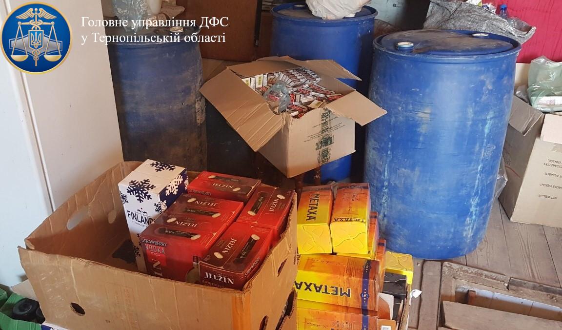 Підробленого алкоголю на більш ніж півмільйона гривень вилучили працівники СБУ Тернопільщини
