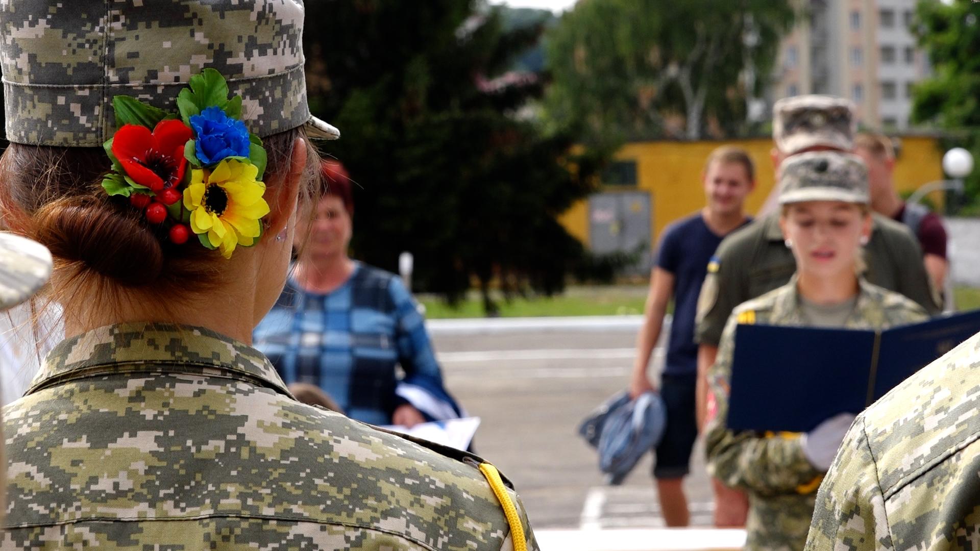 15-ий випуск центру підготовки офіцерів запасу відсвяткували у ЗУНУ