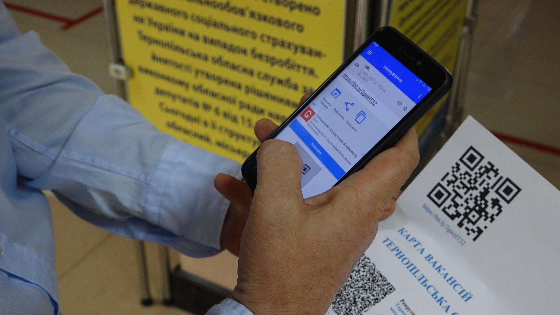 Вакансії, вимоги, зарплата: жителі Тернопільщини можуть знайти роботу на онлайн-карті