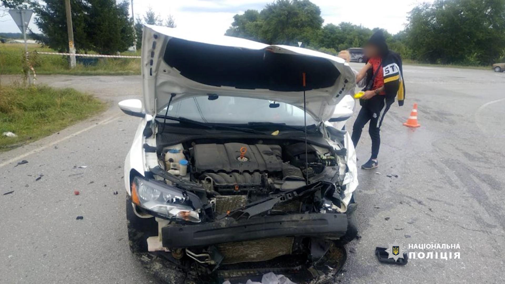 Чому трапилась аварія, в якій постраждали 5 людей, з'ясовують поліцейські Тернопілля