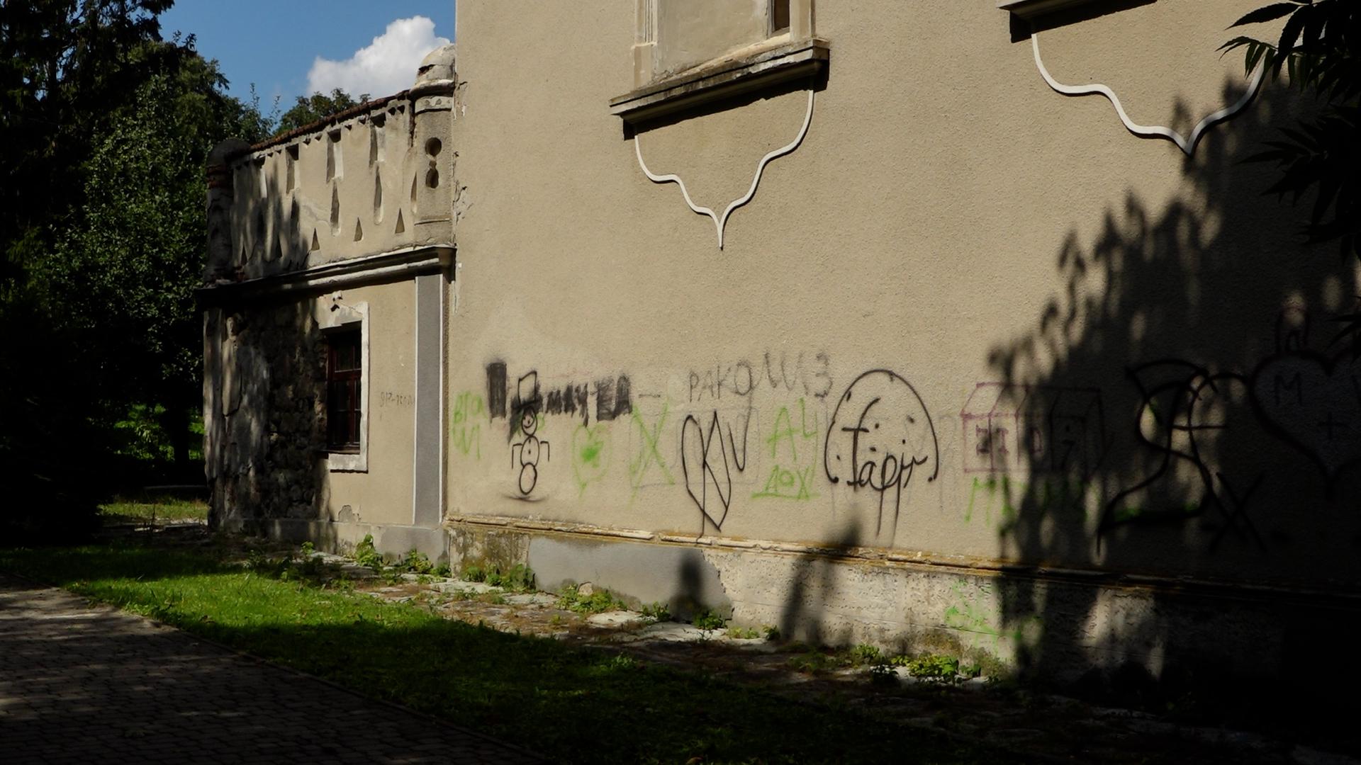 Поліцейські розслідують, хто та з якою метою осквернив Гусятинську синагогу