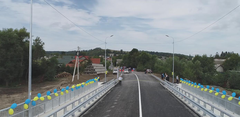 На Тернопільщині відновили міст, через який пролягає туристичний маршрут