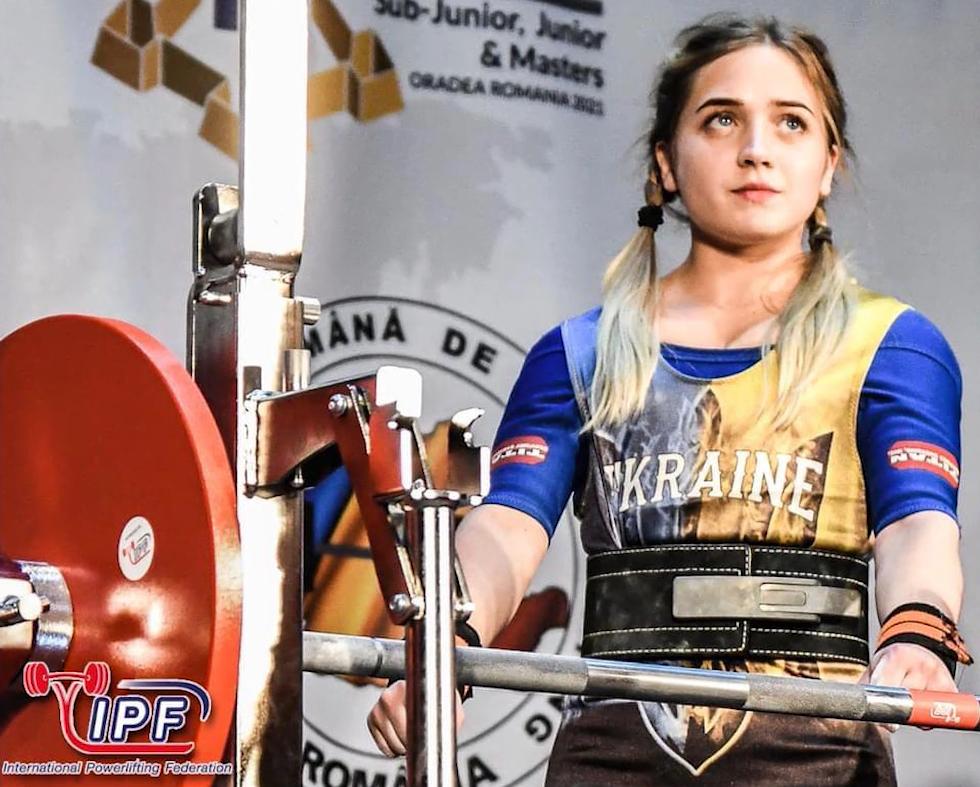 Чотири світових рекорди з пауерліфтингу встановила юна спортсменка з Тернопільщини