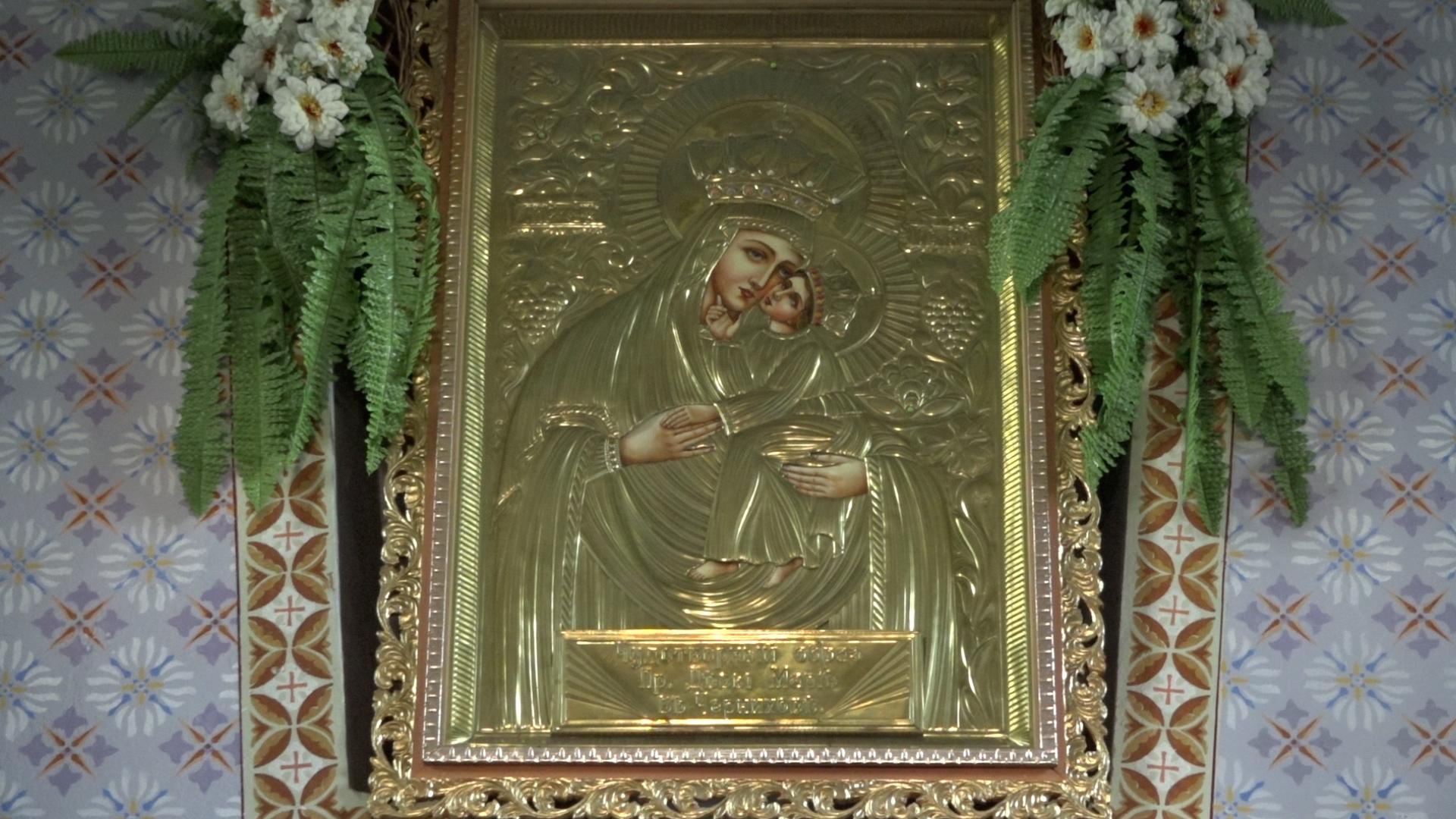 У храмі на Тернопільщині моляться до чудотворної ікони