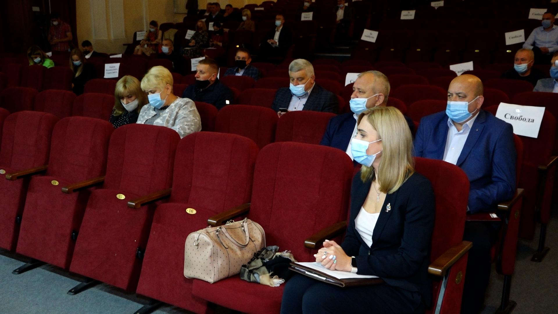 На сесії Тернопільської міськради розглянули більше 150 питань