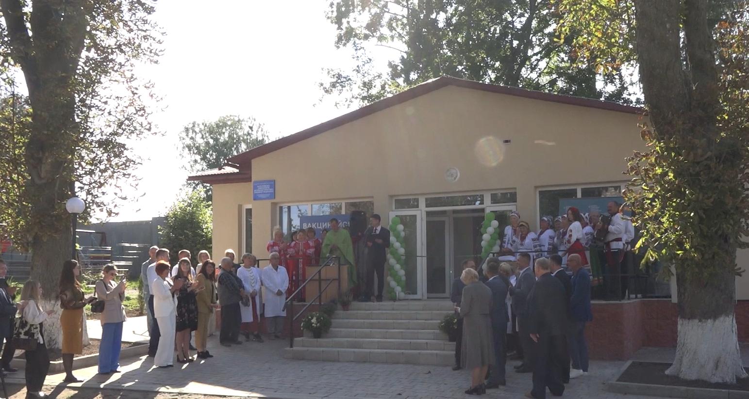 На Тернопільщині відкрили нову амбулаторію