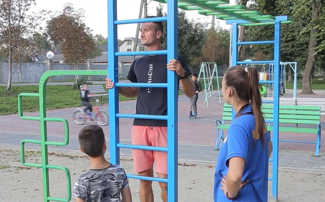 На Тернопільщині облаштують 30 сучасних спортмайданчиків