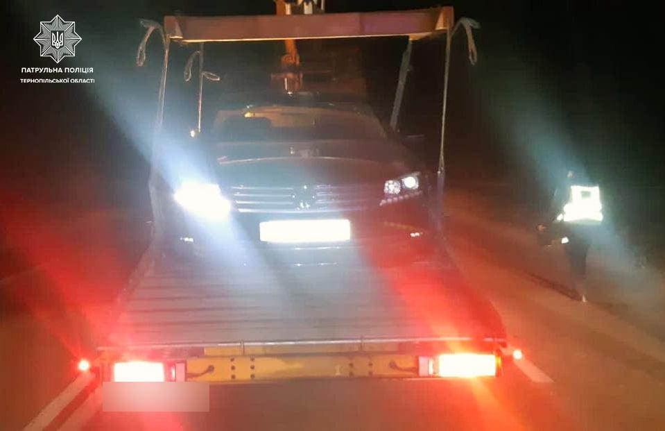 Тернопільські правоохоронці виявили п'яного винуватця автопригоди