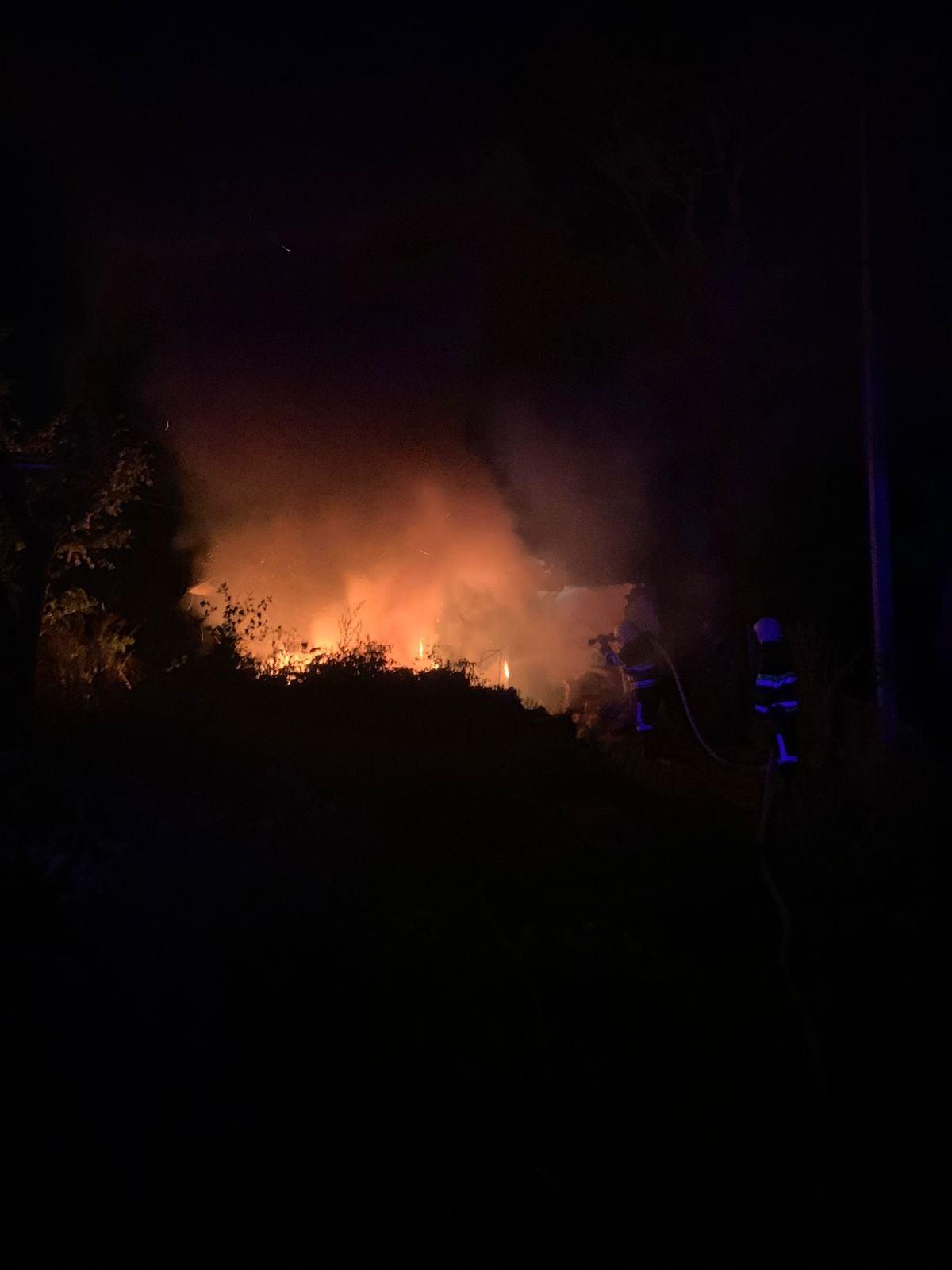 Згоріли пральна машинка та мопед: наслідки пожежі на Чортківщині