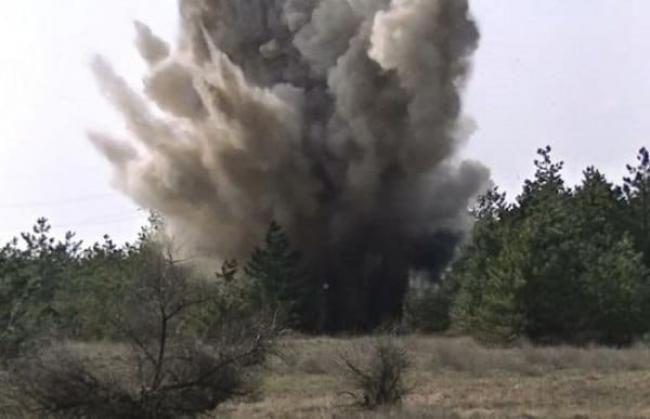 Ручну гранату знайшли в тернопільському парку