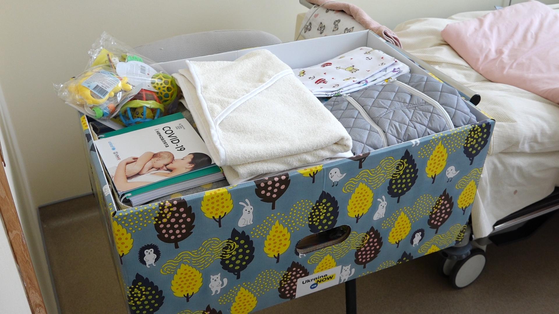 Чи отримали тернопільські пологові «пакунки малюка»