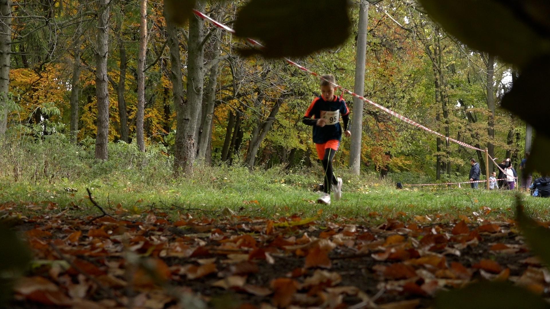 Юні бігуни Тернопільщини визначили кращих у легкоатлатичному кросі