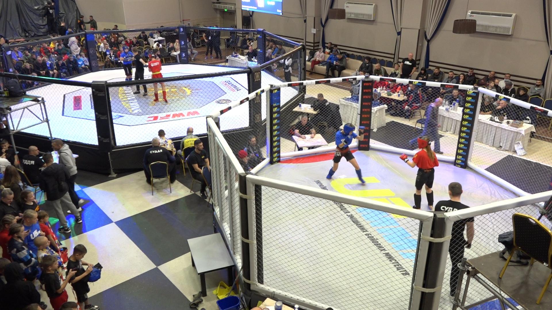 Кубок України зі змішаних бойових мистецтв ММА відбувся в Тернополі